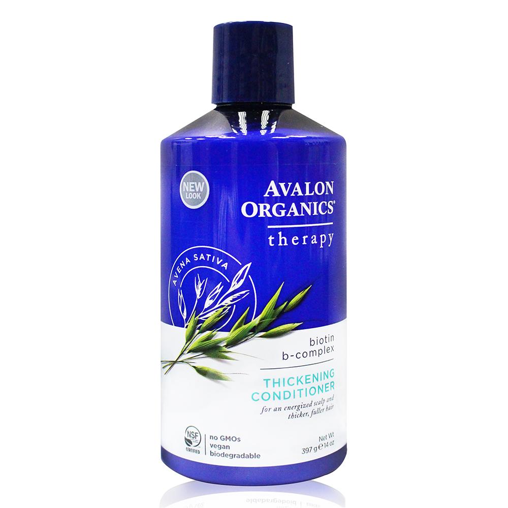 AVALON ORGANICS 湛藍B群健髮精油潤絲精(397g/14oz)