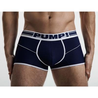 PUMP!深藍色自由運動員四角內褲