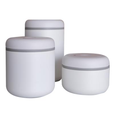 FELLOW ATMOS不鏽鋼真空密封罐(0.4+0.7L+1.2L)-霧面白-三入組