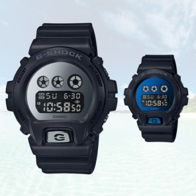 CASIO卡西歐 璀璨耀眼金屬風手錶(DW-6900MMA)