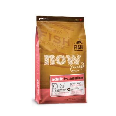 Now! 鮮肉無穀天然糧 鮮魚成犬配方 6磅