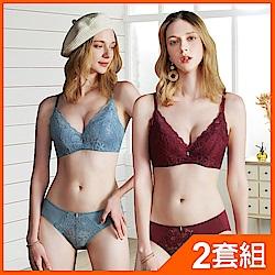 EASY-SHOP-開運戀人-大罩杯B-E罩成套內衣-2套組