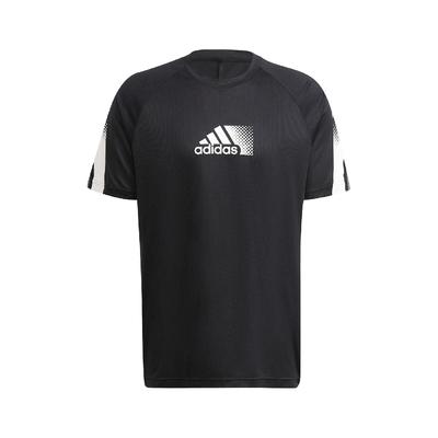 adidas T恤 Aeroready Sport Tee 男款 愛迪達 吸濕 清新乾爽 短袖 運動休閒 黑 白 GR9679
