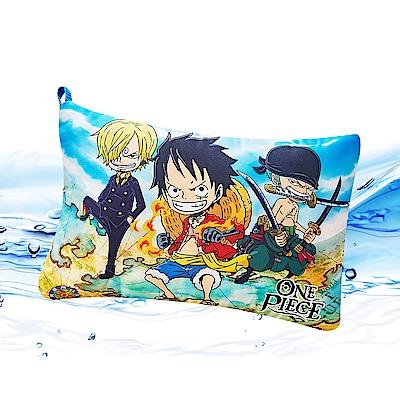 Saint Rose  卡通正版授權 天絲可水洗枕一入-航海王征服世界
