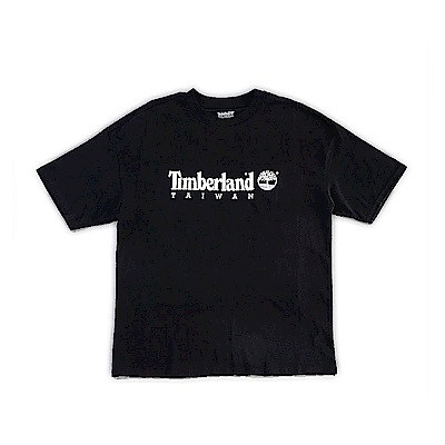 Timberland 台灣款SLS 黑色短袖T恤 | A1OHY001