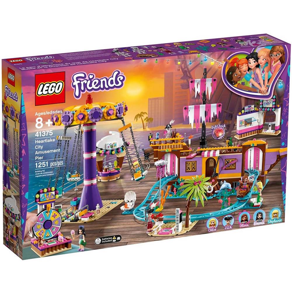 樂高LEGO Friends系列 - LT41375 心湖城休閒碼頭