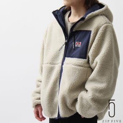 ZIP日本男裝 BEN DAVIS 抗靜電布料正反兩穿BOA尼龍夾克外套 拉鍊&鈕扣雙重構造 (4色)