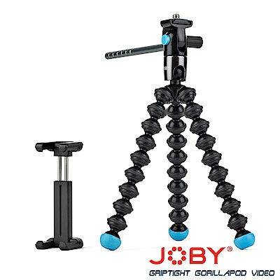 JOBY 磁力錄影腳架(含手機夾) GripTight GorillaPod Video