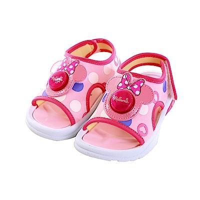 迪士尼米妮閃燈涼鞋 sk0781 魔法Baby
