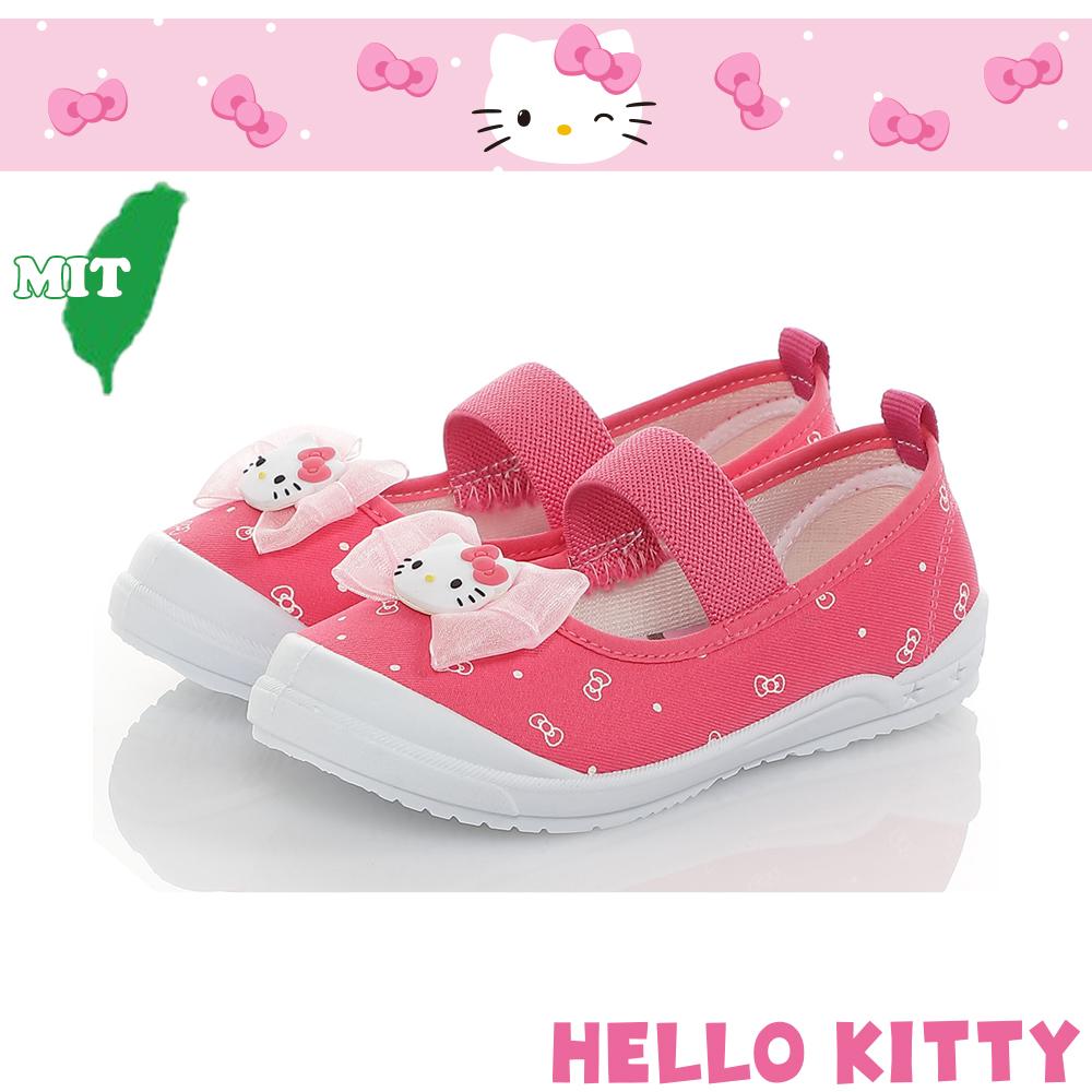 HelloKitty童鞋 輕量減壓防滑防臭幼稚園室內鞋-桃