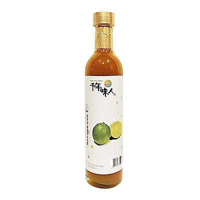韓國千年味人 天然釀造醋飲-青檸醋(300ml/瓶)