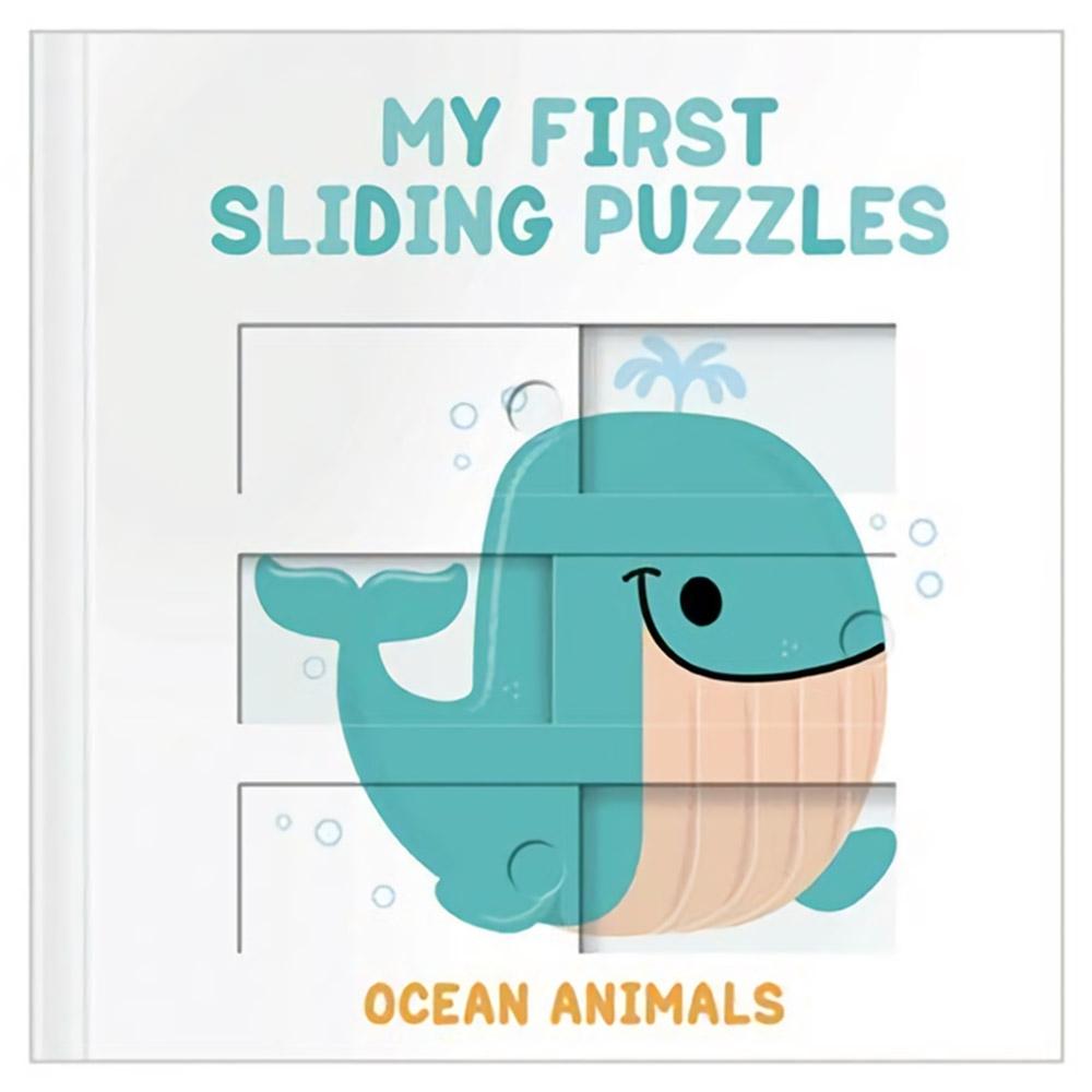 My First Sliding Puzzles:Ocean Animals 拼圖操作書:海洋動物篇