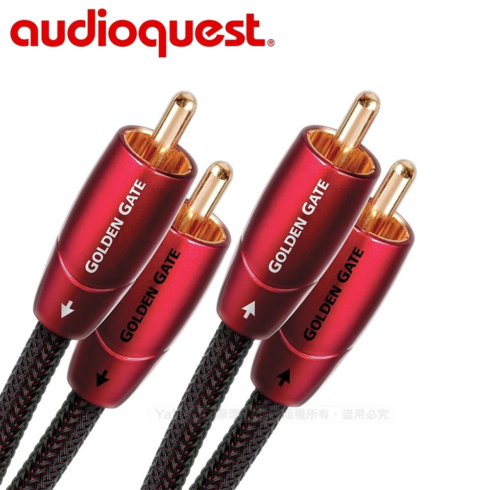 美國 Audioquest Golden Gate 訊號線(RCA-RCA) -1.5M