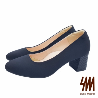 【SM】OL極簡典雅大方方頭中跟鞋