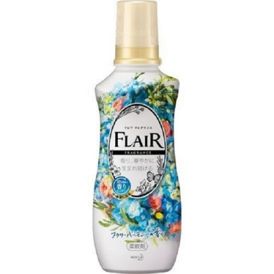 日本製花王kao FLAIR 石原聰美 香水衣物柔軟精540ml-和諧花香