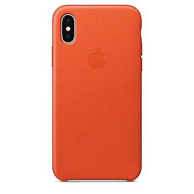 原廠-Apple-iPhone-X-皮革保護殼