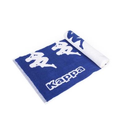 KAPPA 運動毛巾 藍白