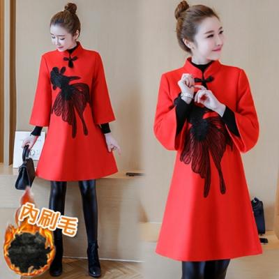 【韓國K.W.】英倫主張韓式名媛洋裝