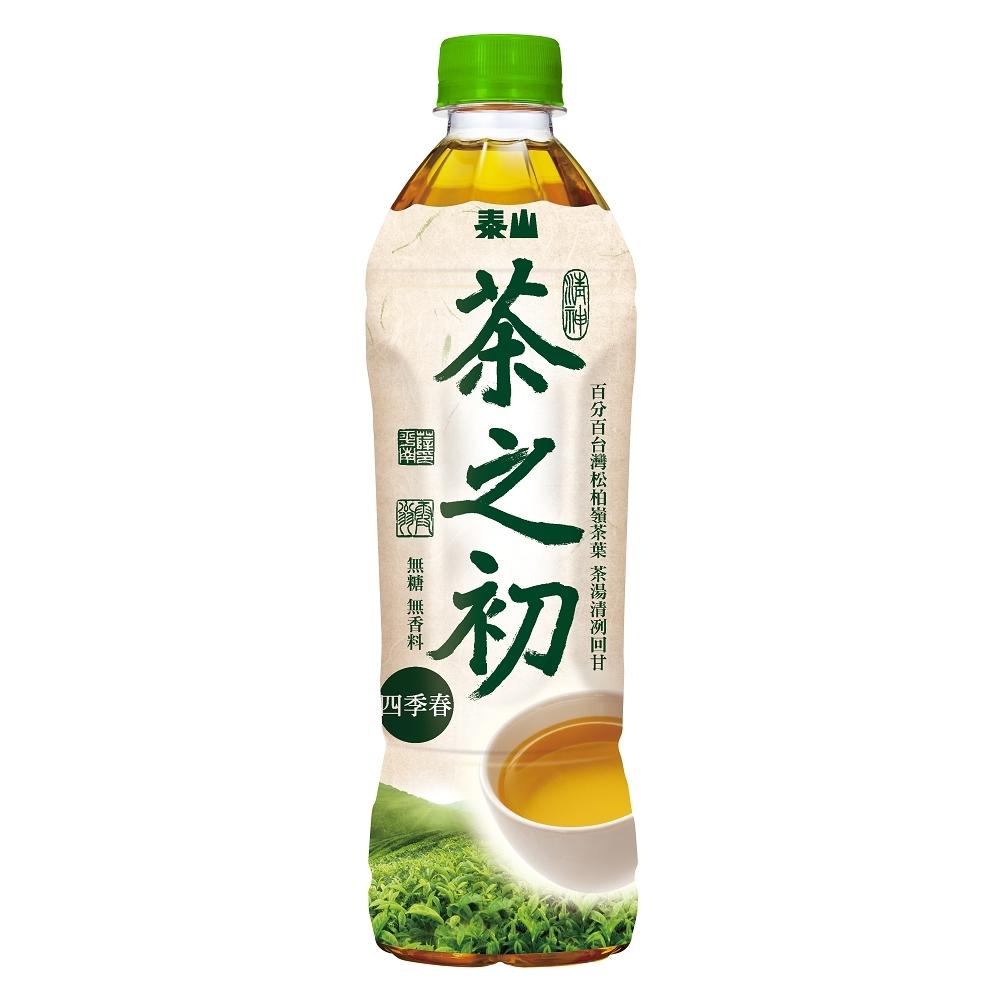 泰山 茶之初台灣四季春(535mlx24入)