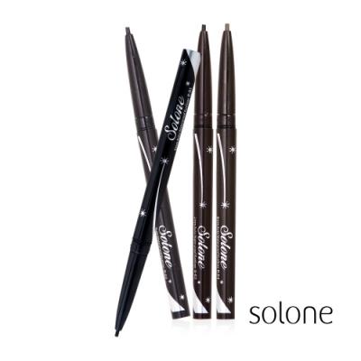 Solone 2mm極細防水眼線膠筆 0.14g 囤貨3入組