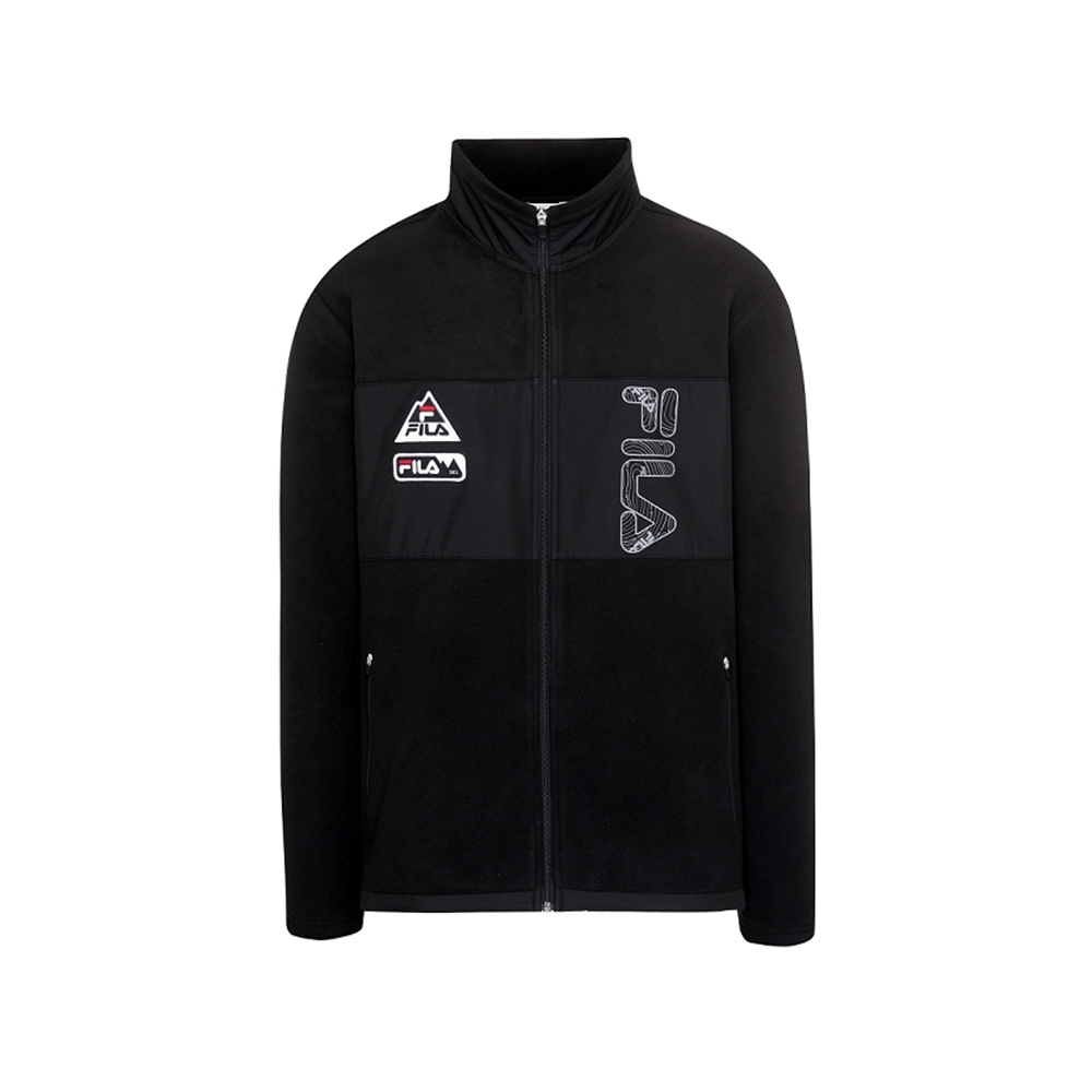FILA 針織外套-黑 1JKU-5101-BK