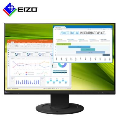 EIZO FlexScan EV2360 黑色 23吋/低藍光低閃頻護眼/薄邊框