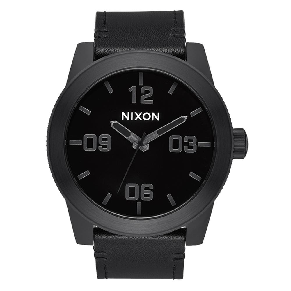 NIXON The CORPORAL 回歸夢想時尚運動腕錶-黑 @ Y!購物
