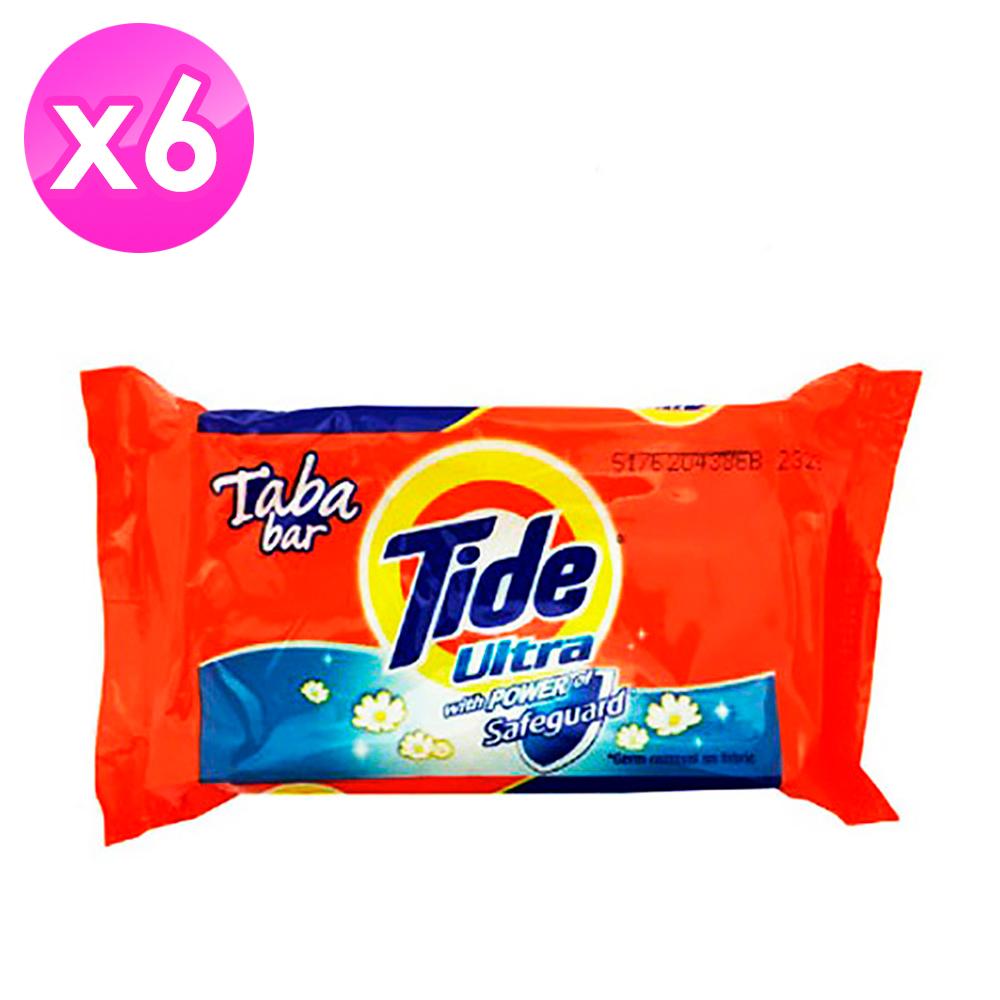 美國Tide 洗衣皂-藍色漂白(130g)-6入組