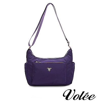 Volee好旅行系列隨行肩背包-法國紫