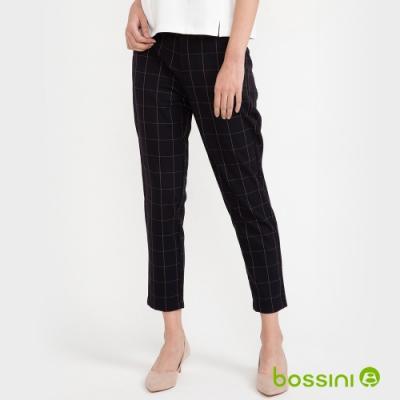 bossini女裝-彈性長褲03深藍色
