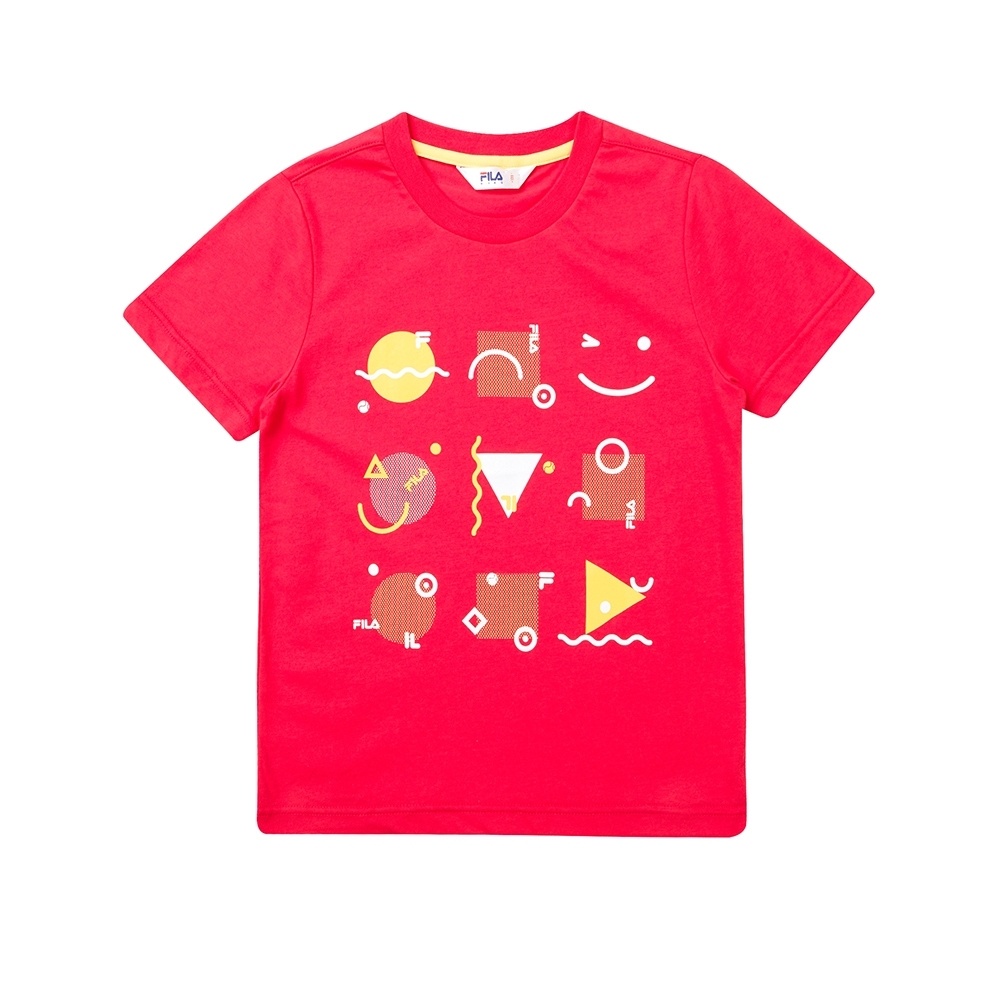 FILA KIDS 針織上衣-桃紅色 1TET-4403-PC product image 1