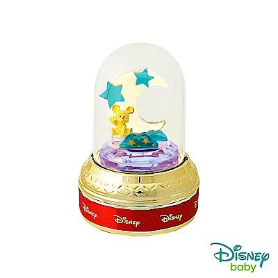 Disney迪士尼系列金飾 玻璃屋音樂盒立體金飾-星夢米奇款