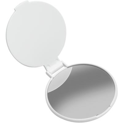 《REFLECTS》簡約折疊隨身鏡(圓白)