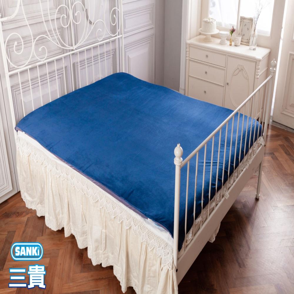 三貴SANKI 法藍絨超柔記憶綿保暖墊(冬夏兩用頂規版)