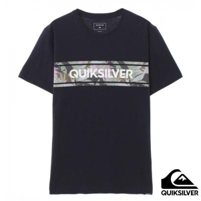 【QUIKSILVER】FRONT LINE ST T恤 海軍藍