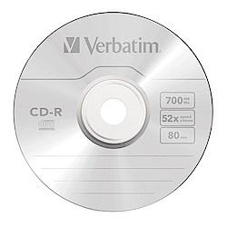 Verbatim 威寶 52X CD-R 光碟片 50片