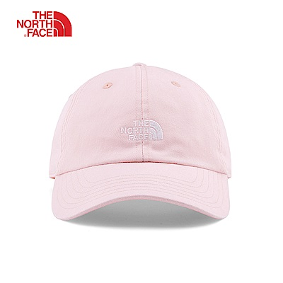 The North Face北面男女款粉色遮陽運動帽|3FKNBV3