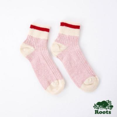 Roots配件- 經典CABIN踝襪-粉色