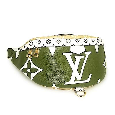 LV M44611 經典Monogram 大logo腰包(綠色)