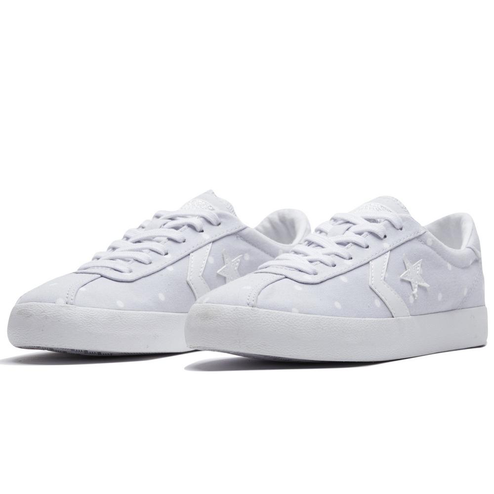 CONVERSE-女休閒鞋160614C-灰白點