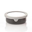 JIA Inc.虹彩鋼 不鏽鋼琺瑯便當盒16cm(黑色)(快)