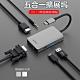 WIWU 五合一集線器 USB-C HUB Type-C多功能擴展塢 HDMI轉接器 product thumbnail 1