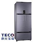 [無卡分期12期]TECO東元 610L 1級變頻3門電冰箱 R6181VXHS