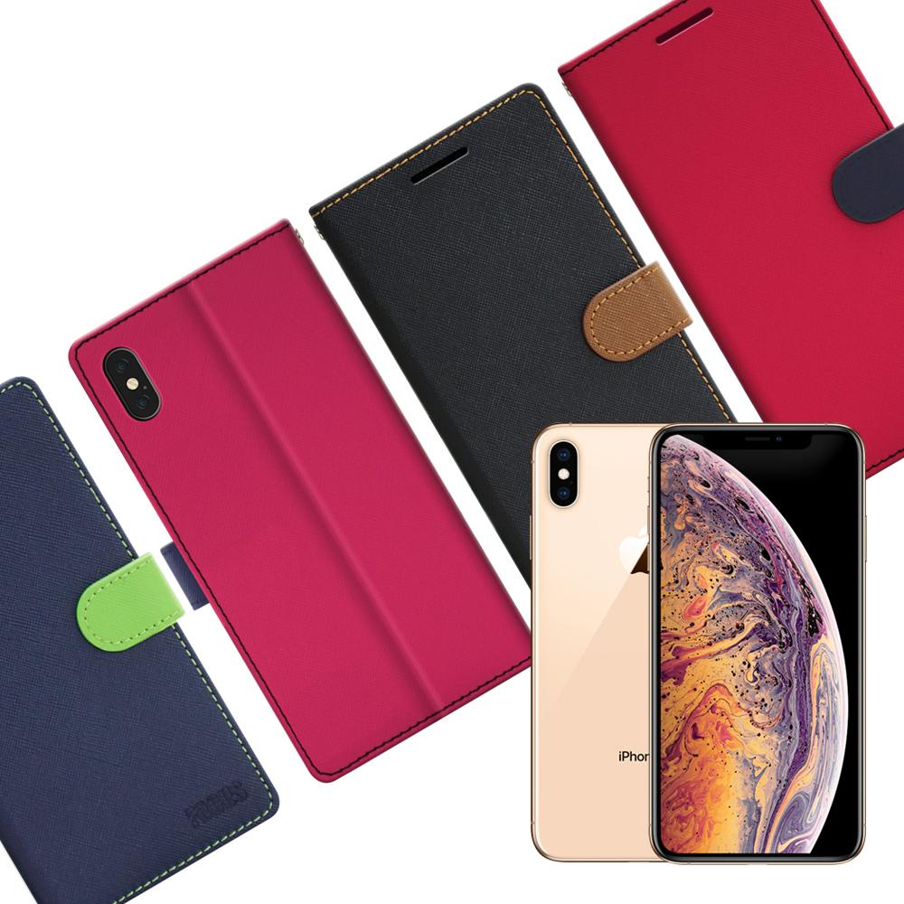 FOCUS for  iPhone Xs Max 蜜糖繽紛支架皮套 @ Y!購物