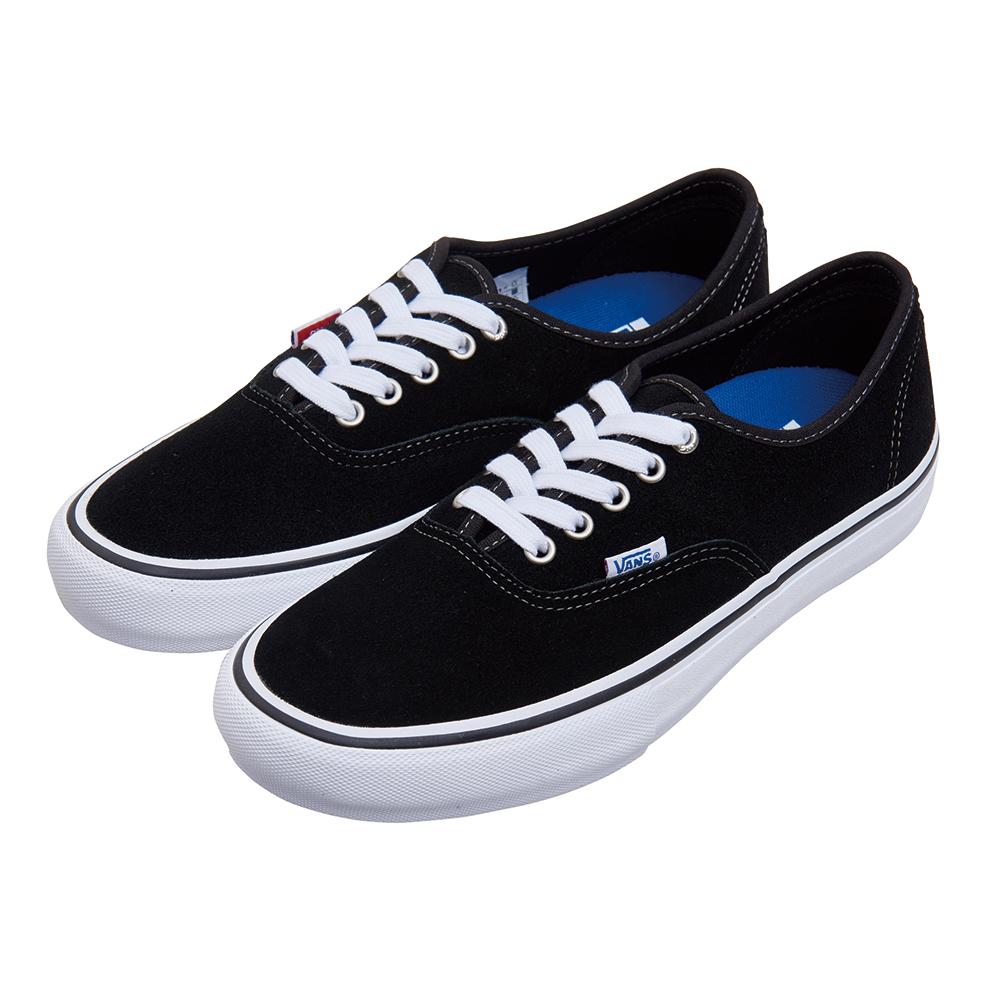 (男)VANS Authentic Pro 經典素色休閒鞋*黑色