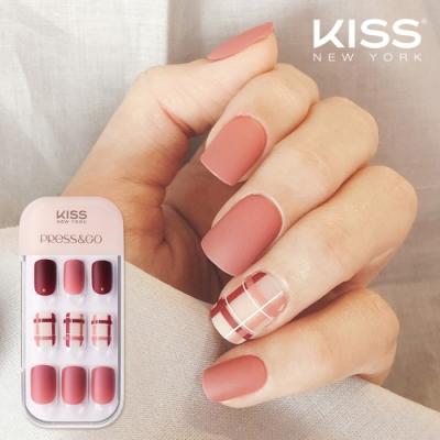 KISS New York-Press&Go頂級光療指甲貼片(就是對自己溫柔 KPNA20KA)
