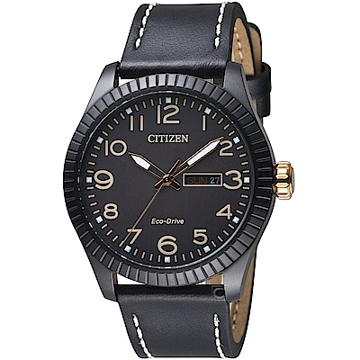 CITIZEN星辰GET S復古時尚光動能限量腕錶(BM8538-10E)