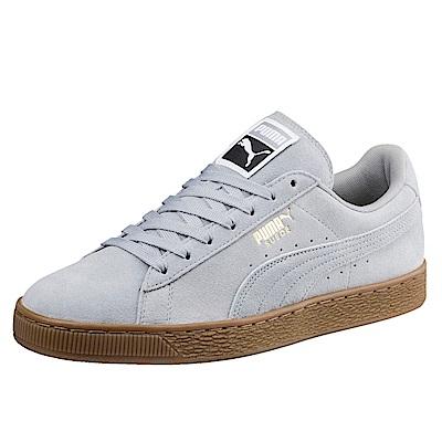 PUMA-SuedeClassicGum男女籃球鞋-石頭灰