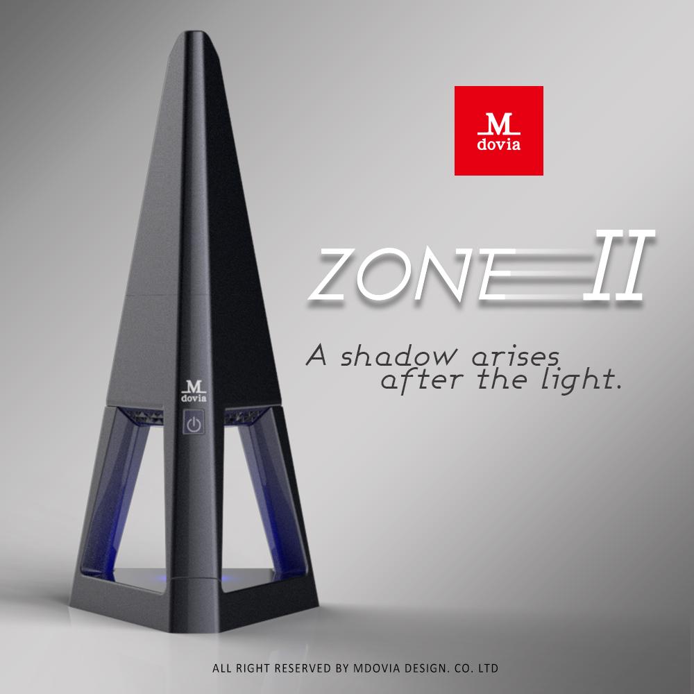 【Mdovia】ZONE 時尚設計精品 吸塵器(經典黑)