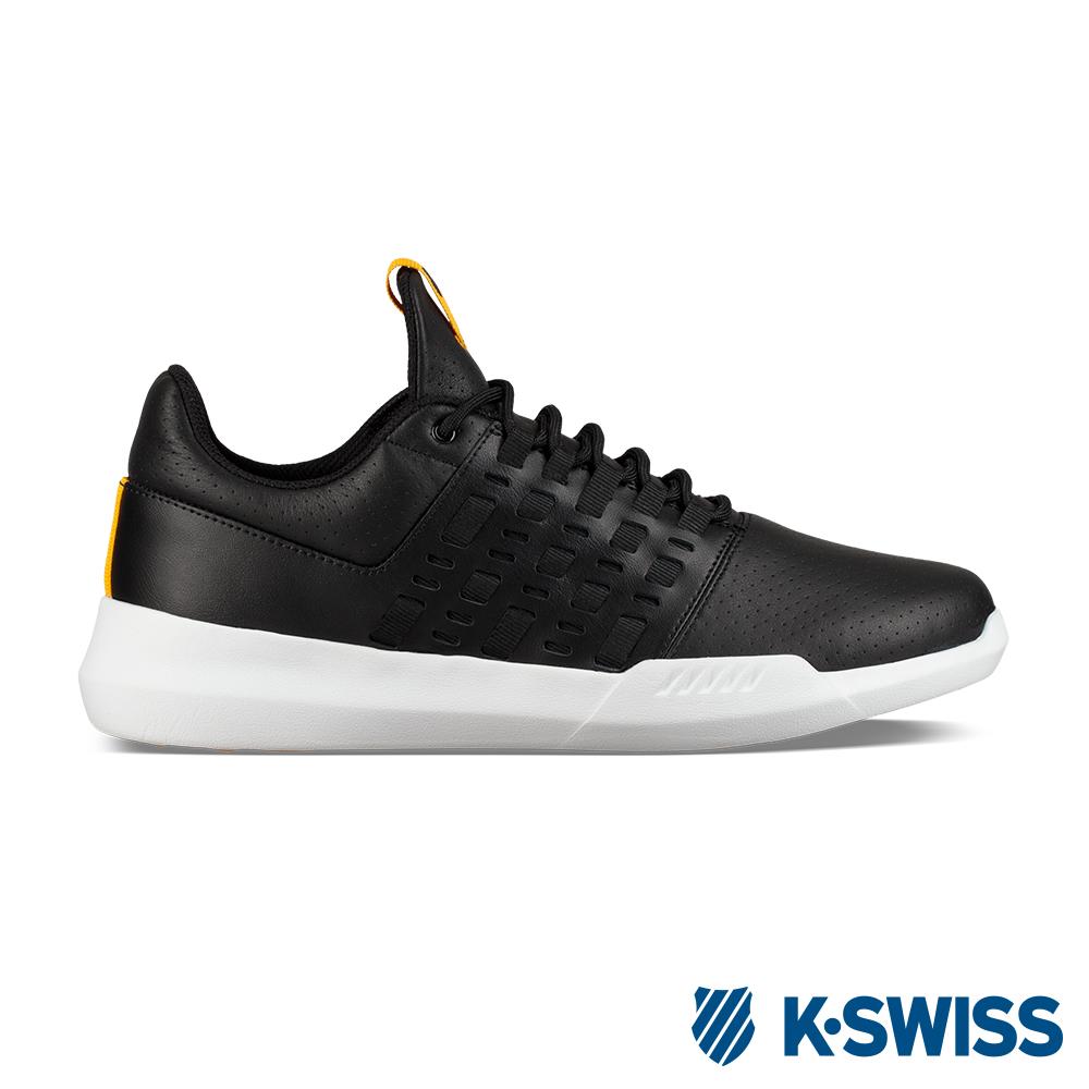 K-SWISS Gen-K Icon Variable 運動鞋-男-黑/黃
